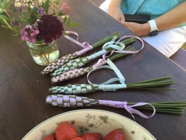 lavendar wands